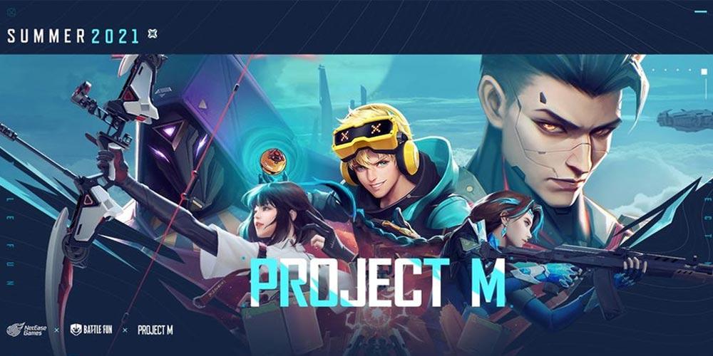 Project M|网易FPS手游,海外开测