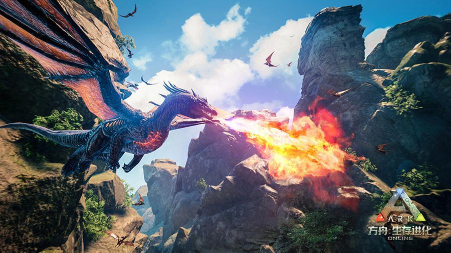 高强度生存造就高粘度互动,《方舟:生存进化》手游让玩家...