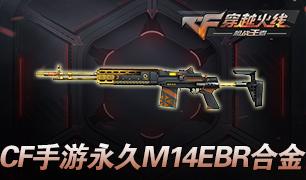 【淘码】穿越火线手游永久M14EBR合金礼包码限时免费淘!