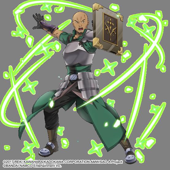 《刀剑神域黑衣剑士:王牌》角色情报11——艾基尔