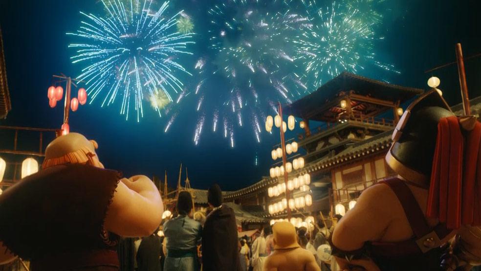 新春贺岁,与部落冲突一起新年游好市!