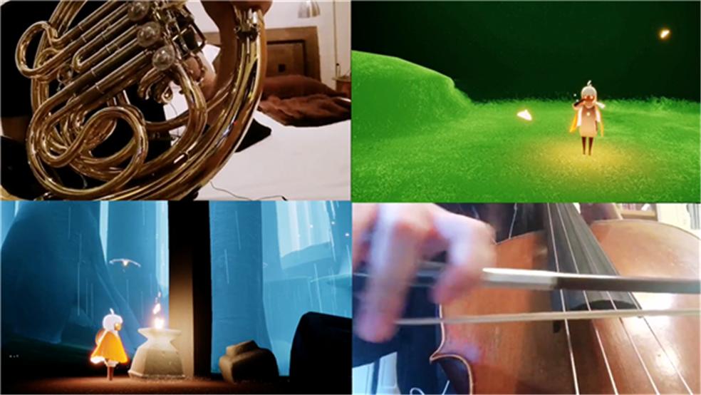 小光分享丨长笛圆号大提琴  雨林前休息地bgm翻奏