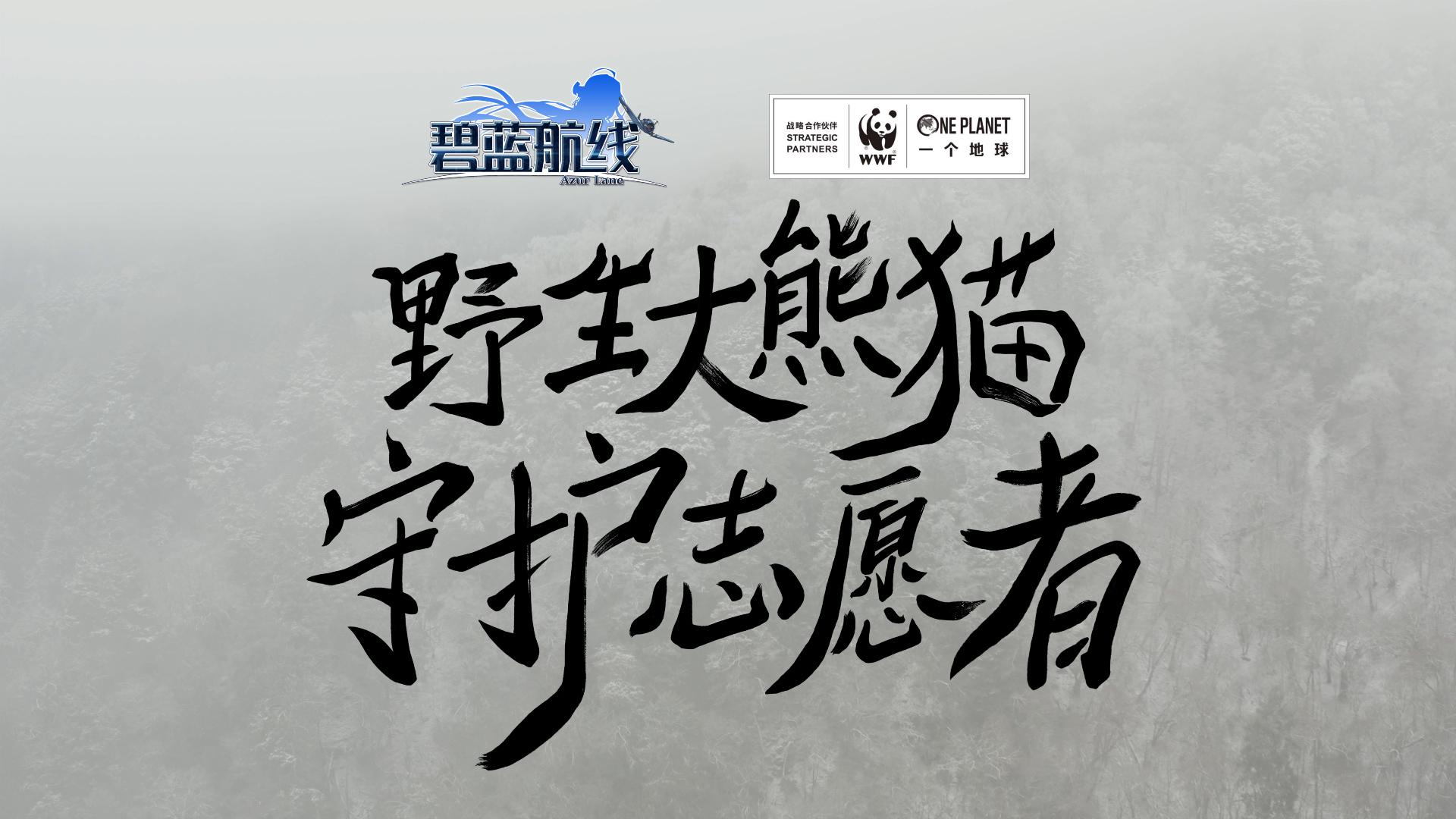 「碧蓝航线×WWF」最可爱的伙伴!——大熊猫公益宣传片