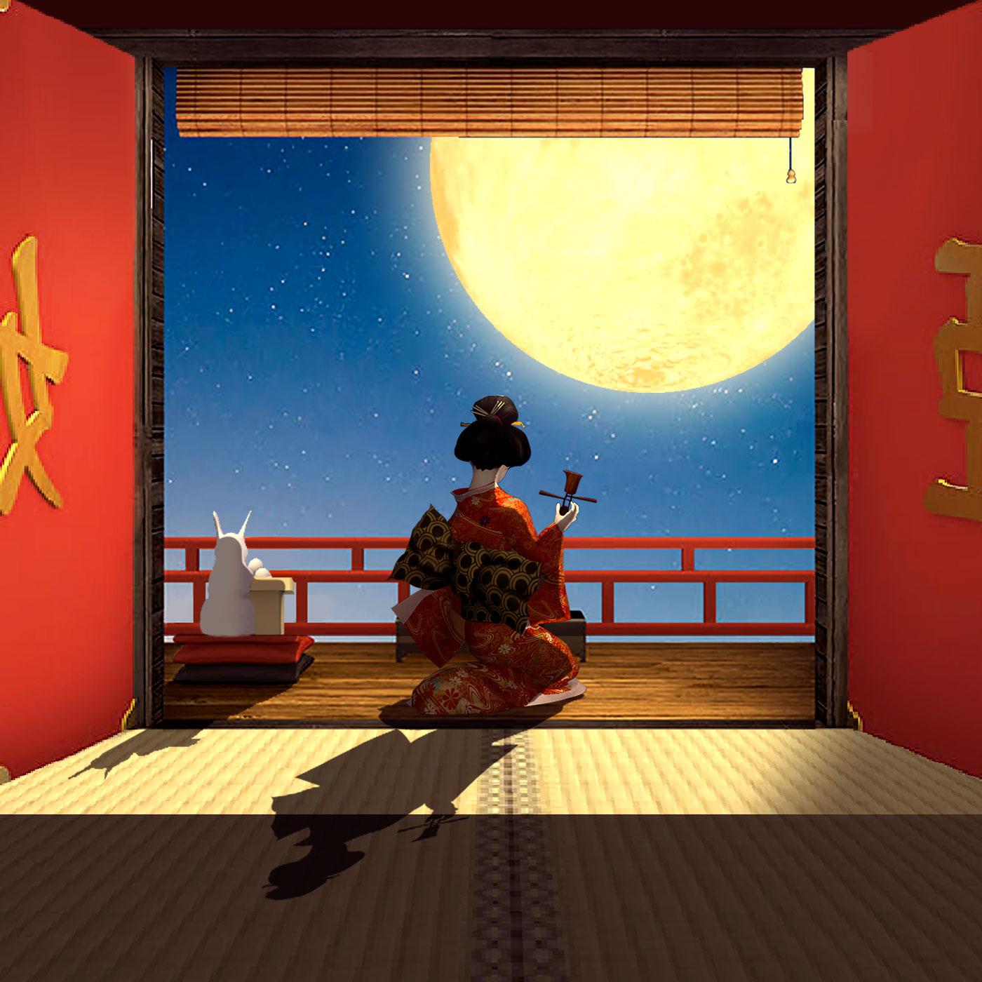 《月夜逃出计划》鉴赏:月与竹,辉夜姬的出逃之旅