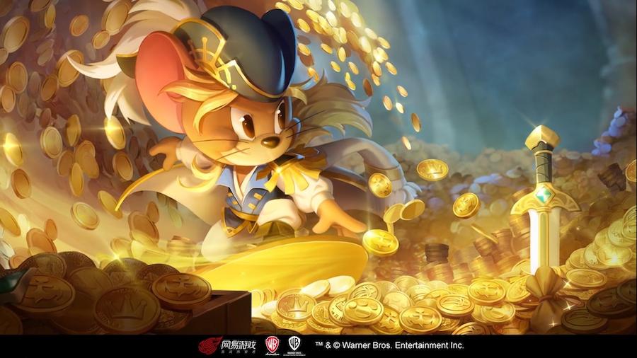 海盗杰瑞的冒险 《猫和老鼠》S皮宝藏之王登录魔镜