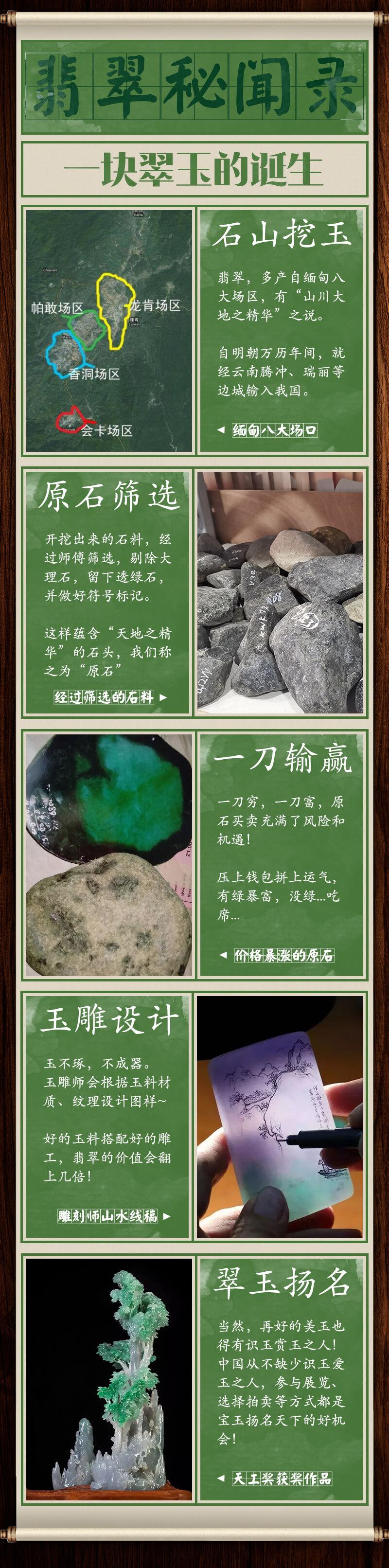 国翠!石头的艺术!